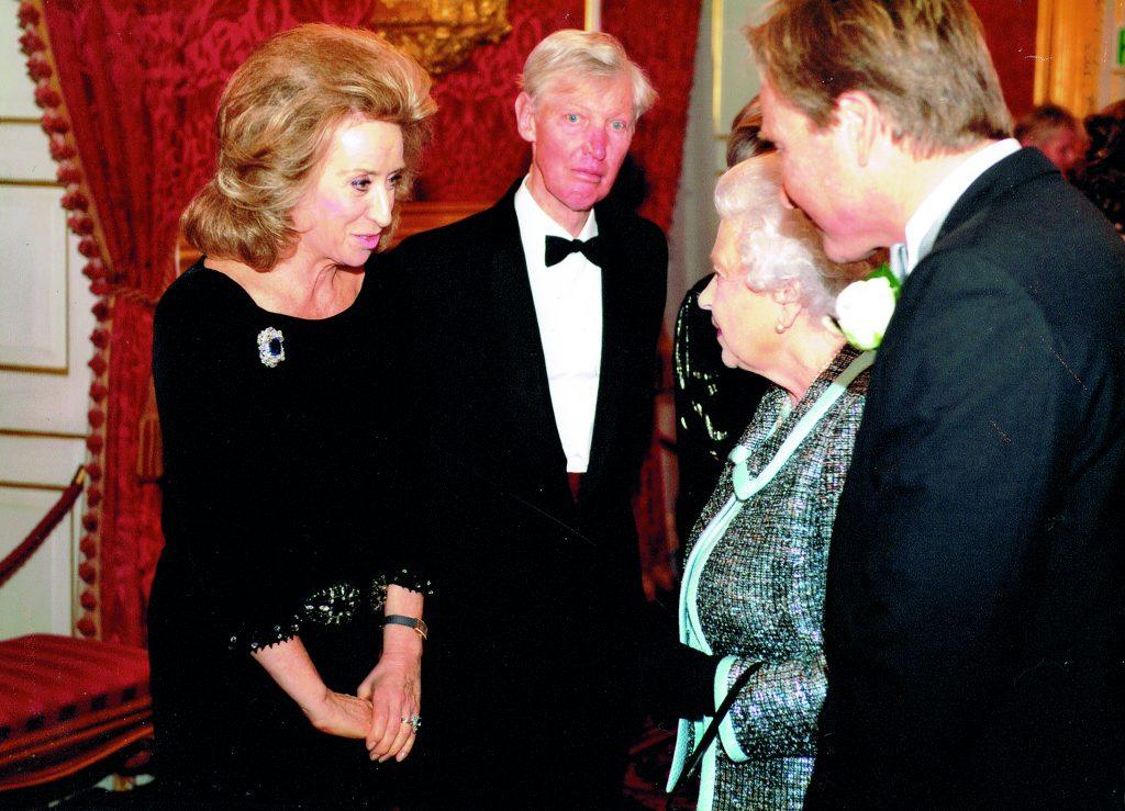 Lady Estelle Wolfson - HRH Queen Elizabeth II